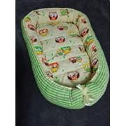 Гнездо-кокон для новорожденных на заказ фото