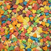 Посыпки СЕРДЕЧКИ разноцветные 750 гр фото