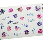 Anna Tkacheva, 3D-стикер CL №026 «Цветы. Цветочки» фото