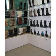 Изготовление торгового оборудования для салонов обуви фото