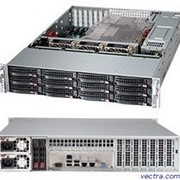 Supermicro Server Chassis 2U 920W EATX (CSE-826BE16-R920LPB) фото