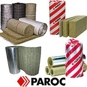 PAROC Pro Section 100 40х121 цилиндры (БЕЗ ФОЛЬГИ) фото