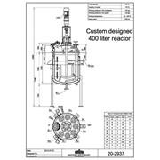Эмалированный реактор Lampart AE 400 фото