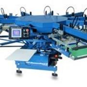 Полуавтоматические карусели для печати по текстилю DIAMONDBACK S, M&R фото