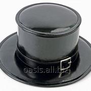 Шкатулка для драгоценностей в виде шляпы-цилиндра фото