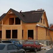 Дома каркасные деревянные. Дома каркасно-панельные. Дома каркасные деревянные фото
