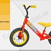 Велосипед двухколесный беговел красный Extreme Balance Bike 12 BB004 Red фото