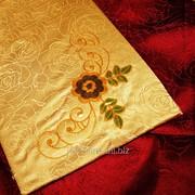 Скатерть с вышивкой 1722 фото