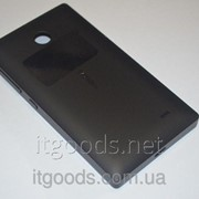 Задняя черная крышка для Nokia X Dual SIM фото