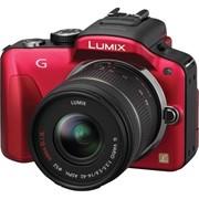 Фотоаппарат Panasonic Lumix G3 Red фото