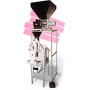 Полуавтомат дозирующий упаковочный для сыпучих продуктов, упаковка сыпучих товаров, оборудование. фото