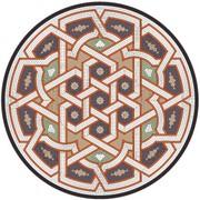 Мозаичная столешница 125 см для кованого или деревянного стол S002 фото