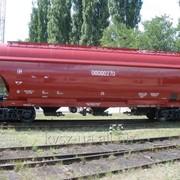 Вагон-хоппер для перевозки зерна модель 19-7016 фото