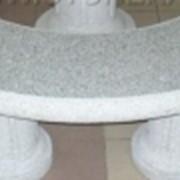 Скамейки из мрамора, гранита фото