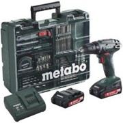 Дрель-шуруповерт METABO BS 18 Mobile Workshop (602207880) фото