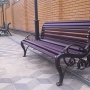 Скамейка, скамейка садово-парковая, скам.дачная фото