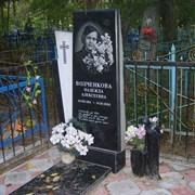 Памятник из качественного гранита 140/70/10 фото