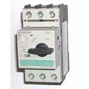 Автоматический выключатель защиты электродвигателя Siemens 3RV1021 фото