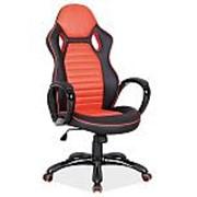 Кресло компьютерное Signal Q-105 (черно-красный) фото