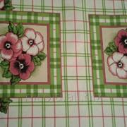 Вафельное полотенце однотонное или цветное фото