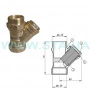 Фильтр STA ВН для воды Ду25 мм латунный фото