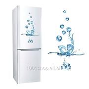 Наклейка для холодильника Кубики льда фото