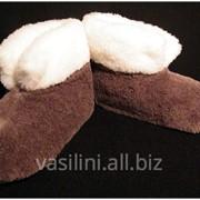 Чуни мужские шерстянные -лучшая зимняя обувь фото