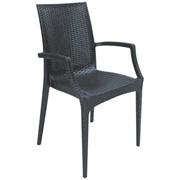 Продам кресло Rattan BISTROT antracite S6625Y фото