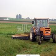 Обработка земли, вспашка, дисковка тяжелым трактором фото