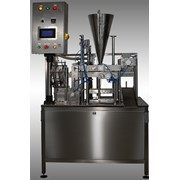 Автоматическая упаковочная машина для фасовки сыпучих продуктов (кофе, цикорий, какао) фото