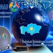 Установка спутникового телевидения НТВ плюс и Отау ТВ фото