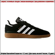 Кеды Adidas Hamburg Black | Скидки при заказе | фото