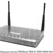 Маршрутизатор TRENDnet TEW-611BRP MIMO Wireless Router фото