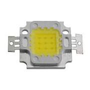 Светодиод COB 10W, 9-12V, 900mA, Белый фото