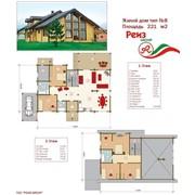Проект жилой дом тип №8 221 м² фото