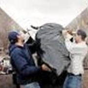 Вывоз бытового мусора. фото