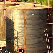 Резервуар вертикальный РВС–400 м3 фото