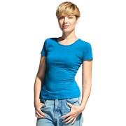 Женская футболка-стрейч StanSlimWomen 37W Лазурный L/48 фото