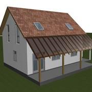 Проектирование дома из СИП-панелей 003 фото