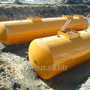 Резервуары стальные горизонтальные цилиндрические типа РГЦ фото