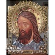 Икона Иоанн Креститель (предтеча) - Шикарная Икона С Серебром И Позолотой, Эксклюзив Код товара: ОСФ-ИК-02 фото