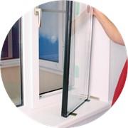 Замена резины (изоляция) стеклопакетов фото