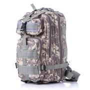 Тактический рюкзак серая цыфра фото