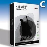 Бумага для принтера maestro standard A4, 500 листов, 80 гр/м BMSA4 фото
