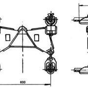Зажим поддерживающий глухой 4ПГН-5-2А фото