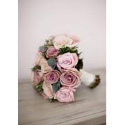 Создание букета для невесты, а так же цветочных композиций. Кратчайшие сроки! фото