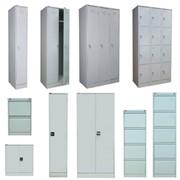 Металлическая офисная мебель: шкафы, картотеки фото