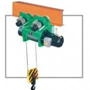 Электроталь канатная с монорельсовой тележкой для нормальной строительной высоты типа МТ и М фото