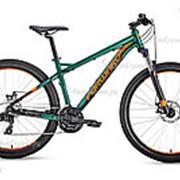 Велосипед Forward Quadro 27,5 2.0 disc (2019) Зеленый 17 ростовка фото