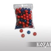 Шарики для рогатки диам. 17 мм пластмассовые (40 шт.) фото